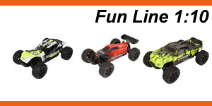 Fun-Cars //   DuneFighter  / Crusher / climber  - brushed und brushless RTR