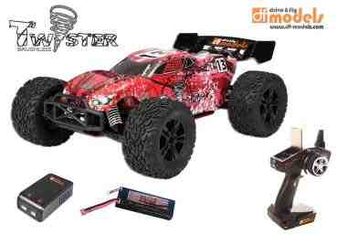 TW1 brushless Truggy - 1:10XL - RTR DF-Models 3077